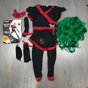 Spirit Halloween Costume Women's Dragon Ninja